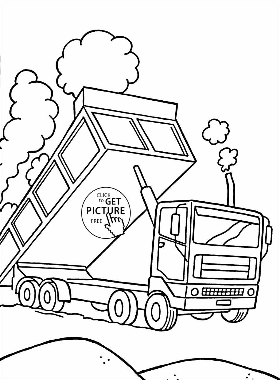 garbage truck pictures to color beautiful dumper truck coloring page for kids transportation coloring of garbage truck pictures to color 1024x1378 opeyr