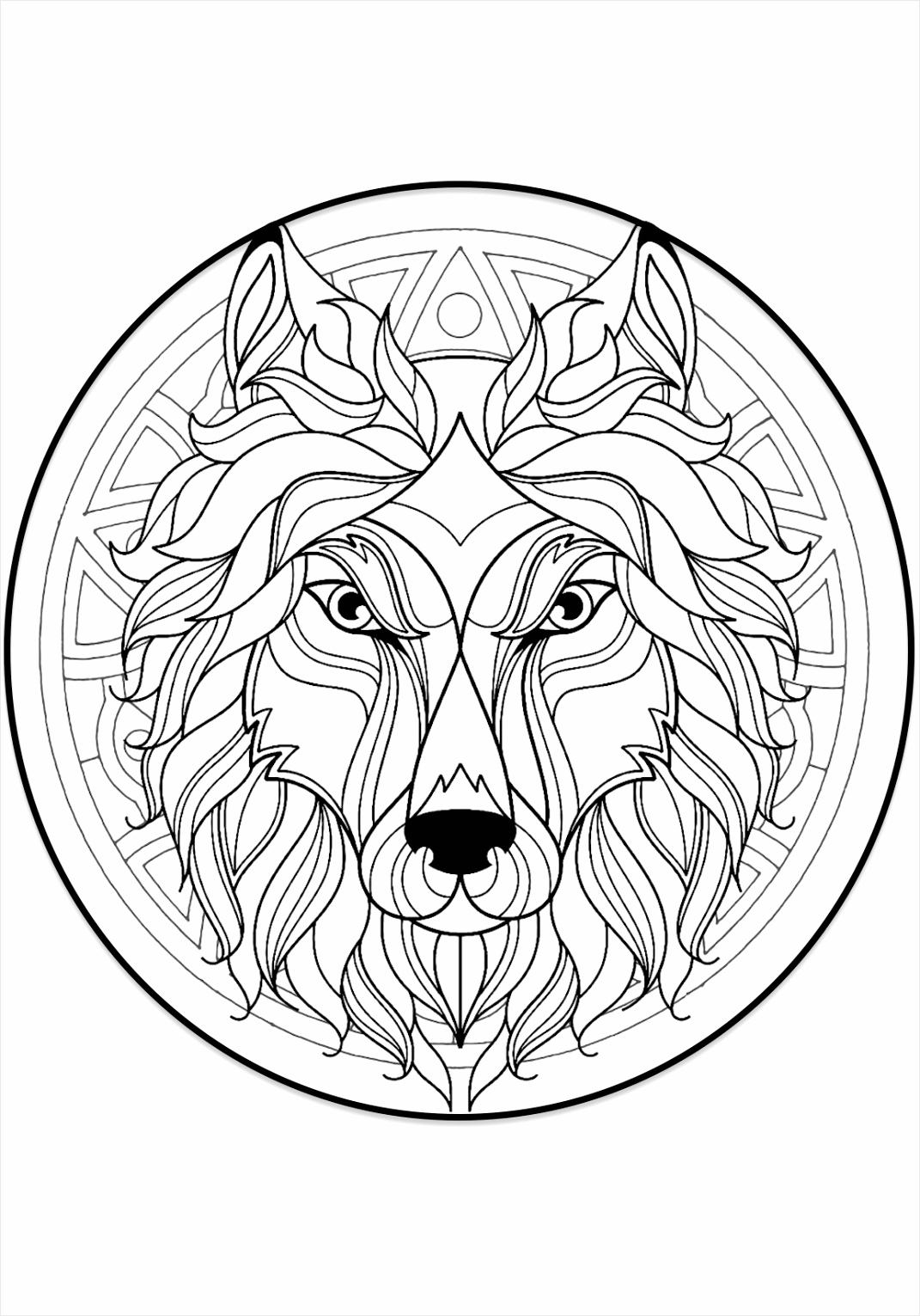 mandala coloring pages eeett