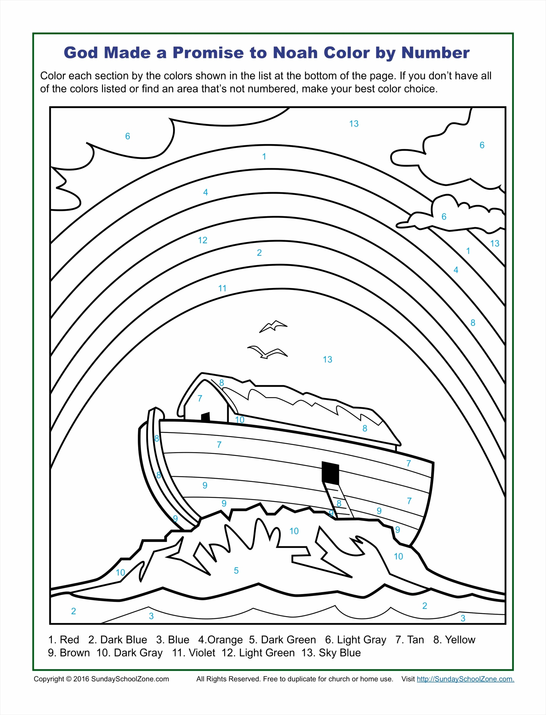 fabulous childrens coloring bible image ideas printable color by number pages on sunday school zone god made a promise to noah color by number scaled ouirs