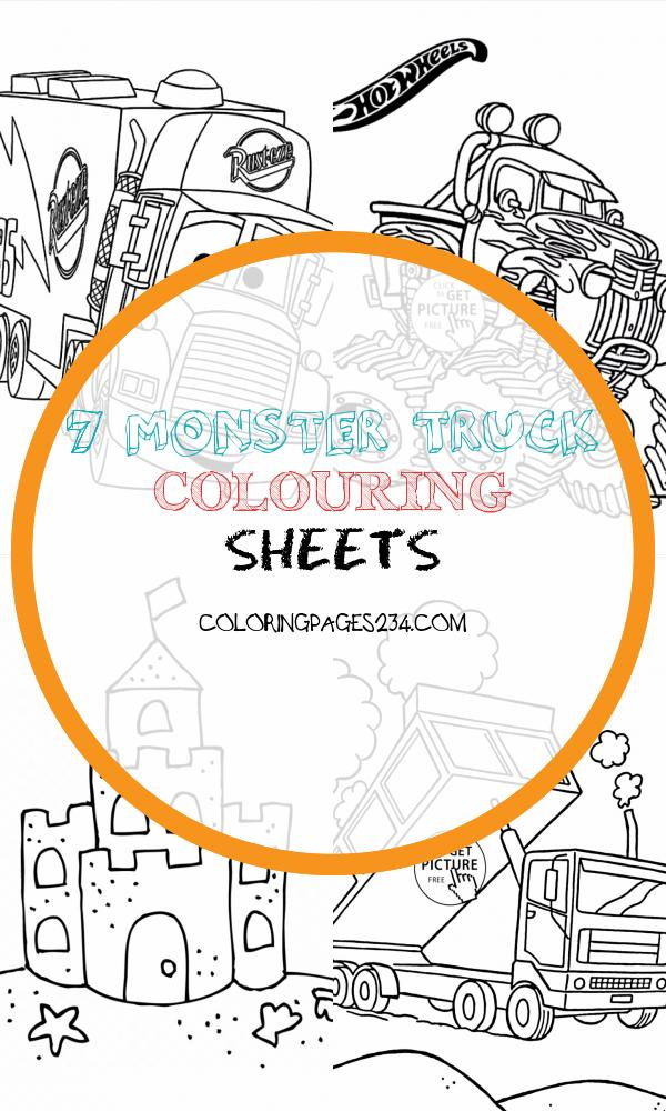 🎨 Monster Truck Coloring Pages Kizi Coloring Pages Monster Truck Colouring Sheets, source:kizicolor.com