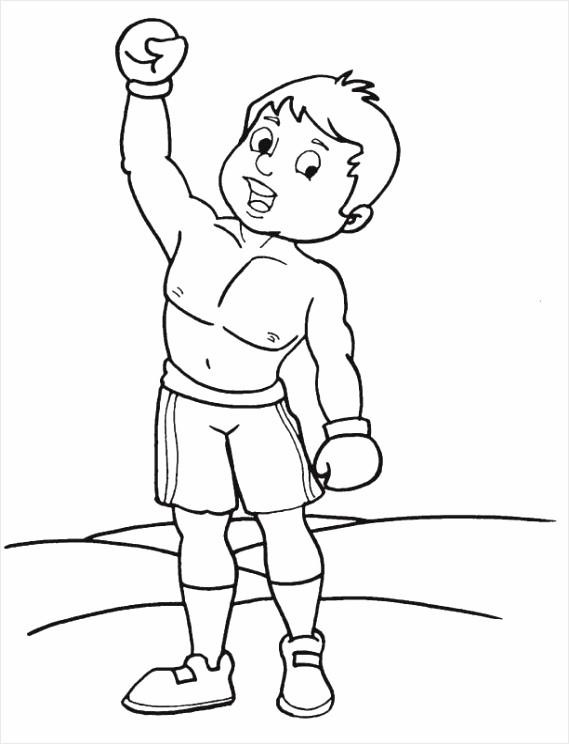 boxing coloring pages 8 eirik