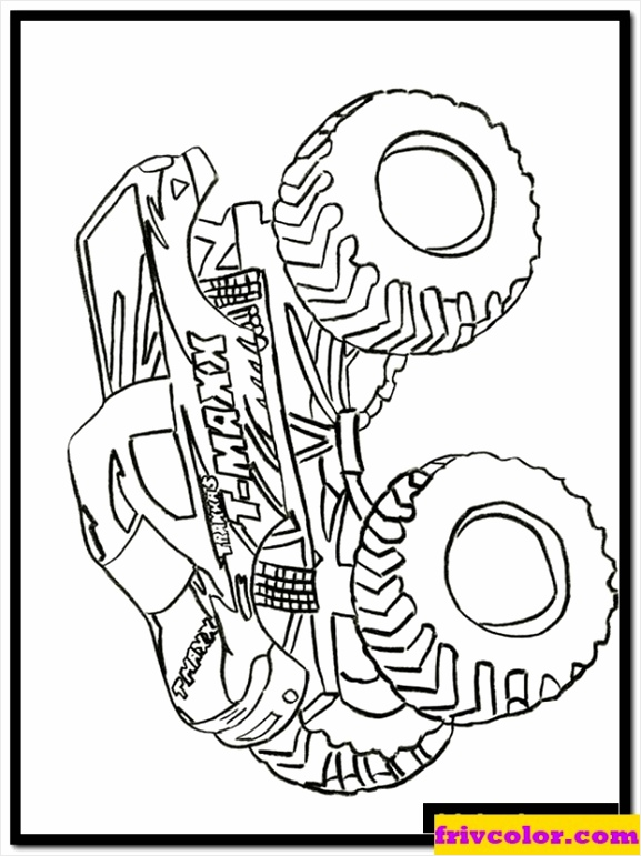 monster truck colouring sheets airxa