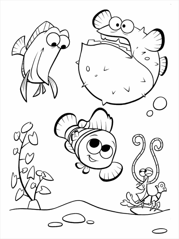 image=finding nemo Coloring for kids finding nemo 1 uewua