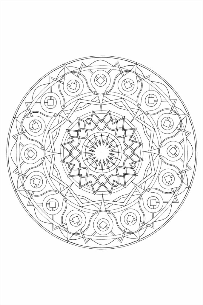 mandala kleurplaat9 towif