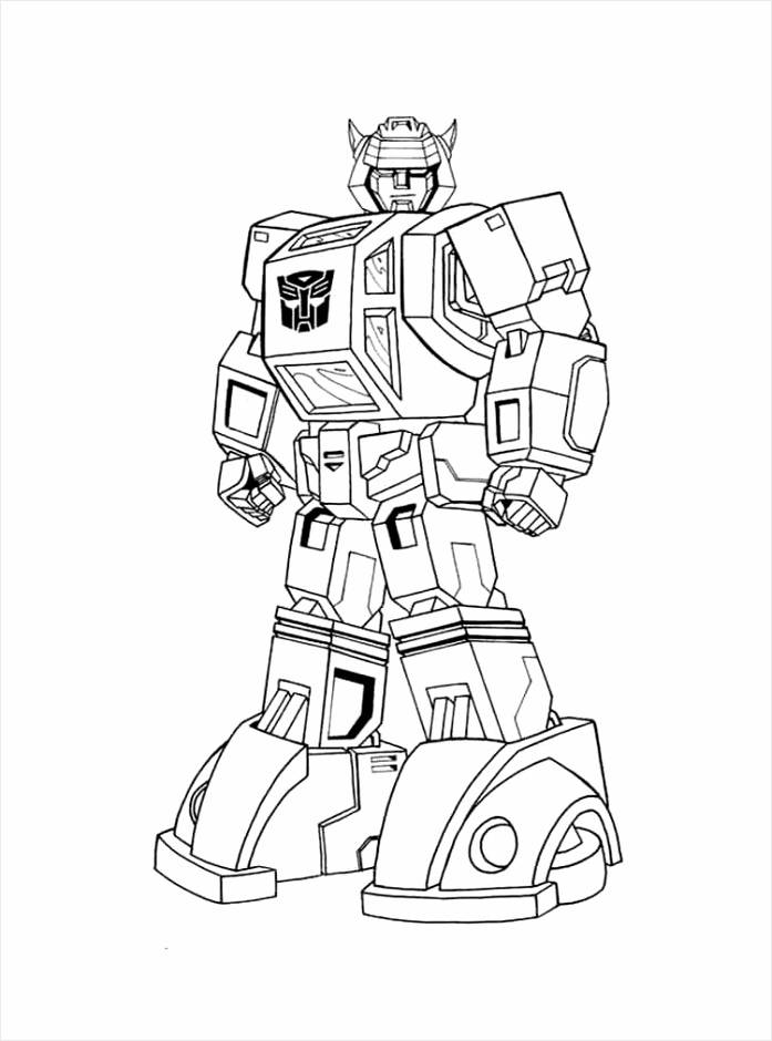 Transformer Coloring Page to Print iypyd