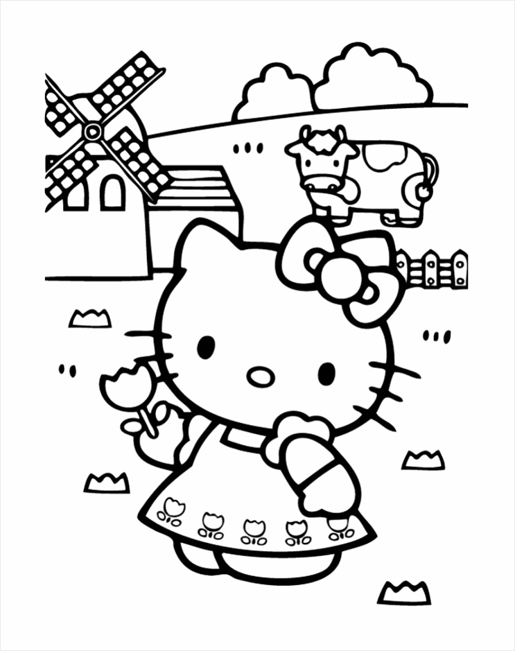 hello kitty coloring pictures pdf pages free iirri