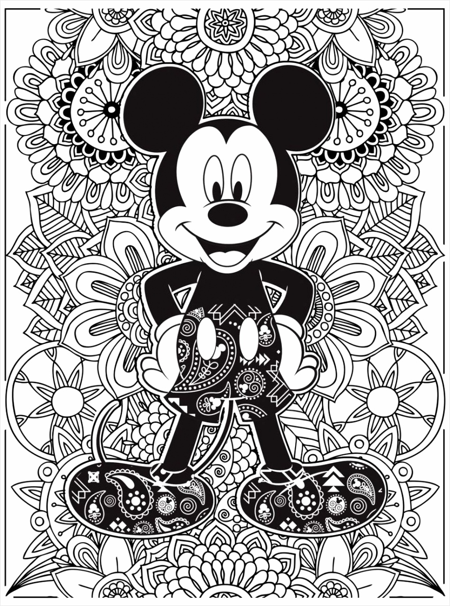 disney mickey mouse coloring pages ufyoe