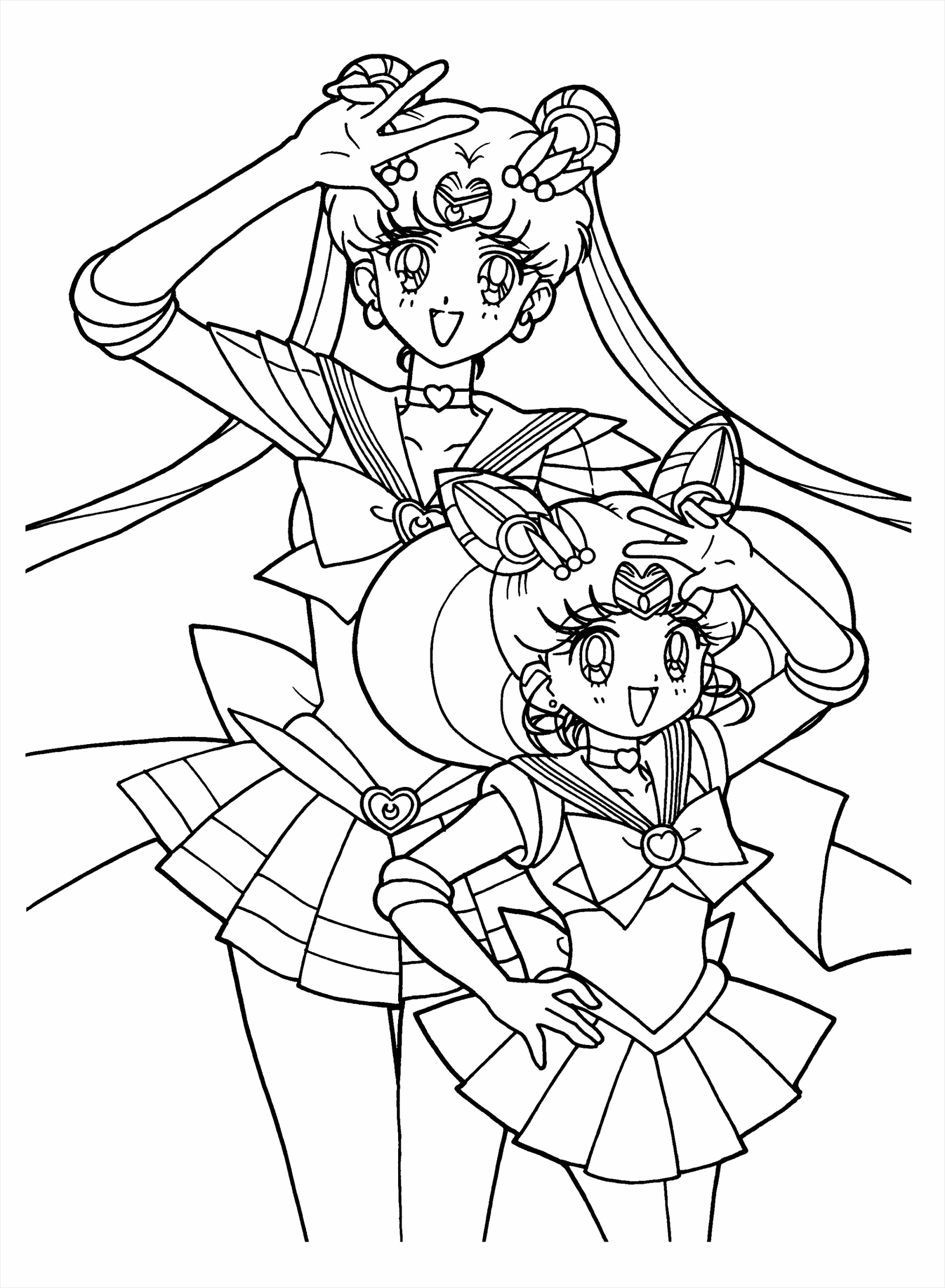 most splendid coloring pages sailoroon printable for free sun and all charactersarvelous book tremendous page enwpa