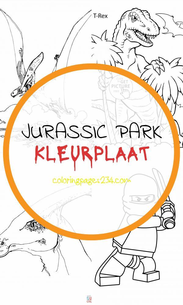 Pteranodon pterosaurus kleurplaat jurassic park kleurplaat, source:supercoloring.com