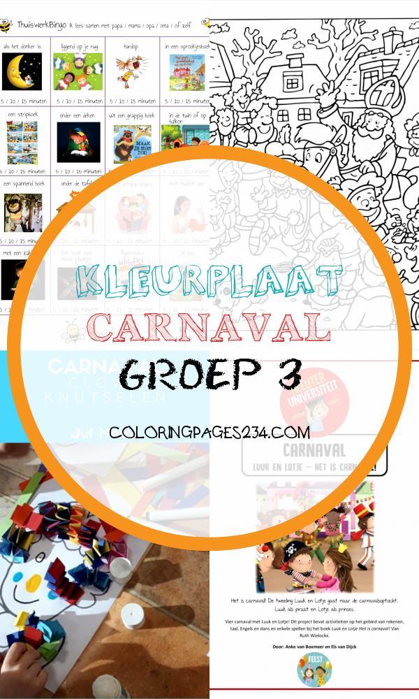Kleuters – Pagina 2 – jufbijtje kleurplaat carnaval groep 3, source:jufbijtje.nl