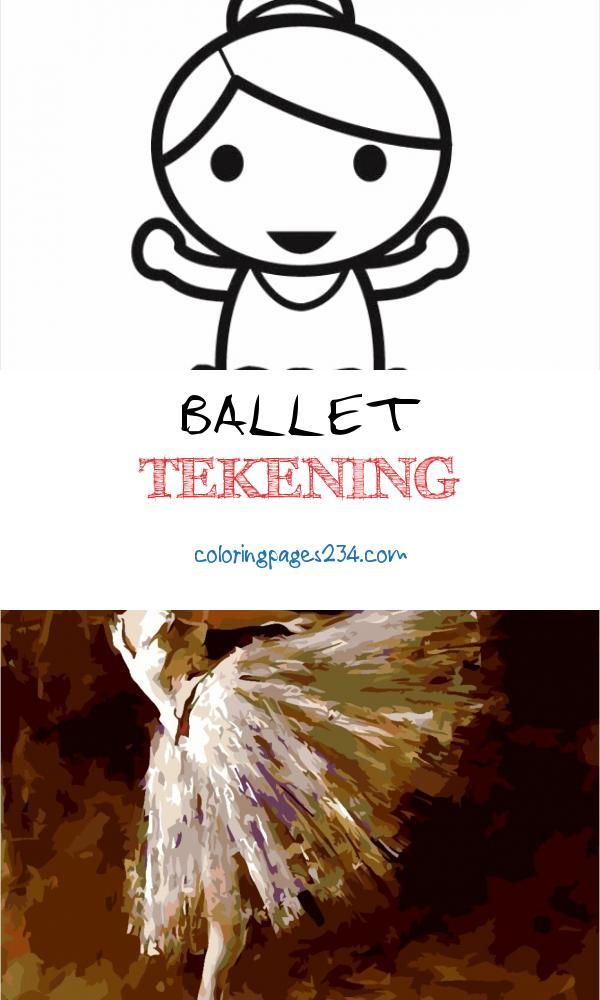 Kleurplaat ballerina Gratis kleurplaten om te printen ballet tekening, source:schoolplaten.com