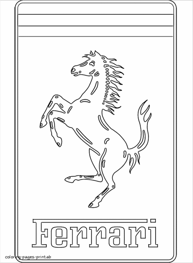 bd12dfc0adae8591d03cb5f9392 ferrari logo coloring pages coloring pages printable 664 895 aruww