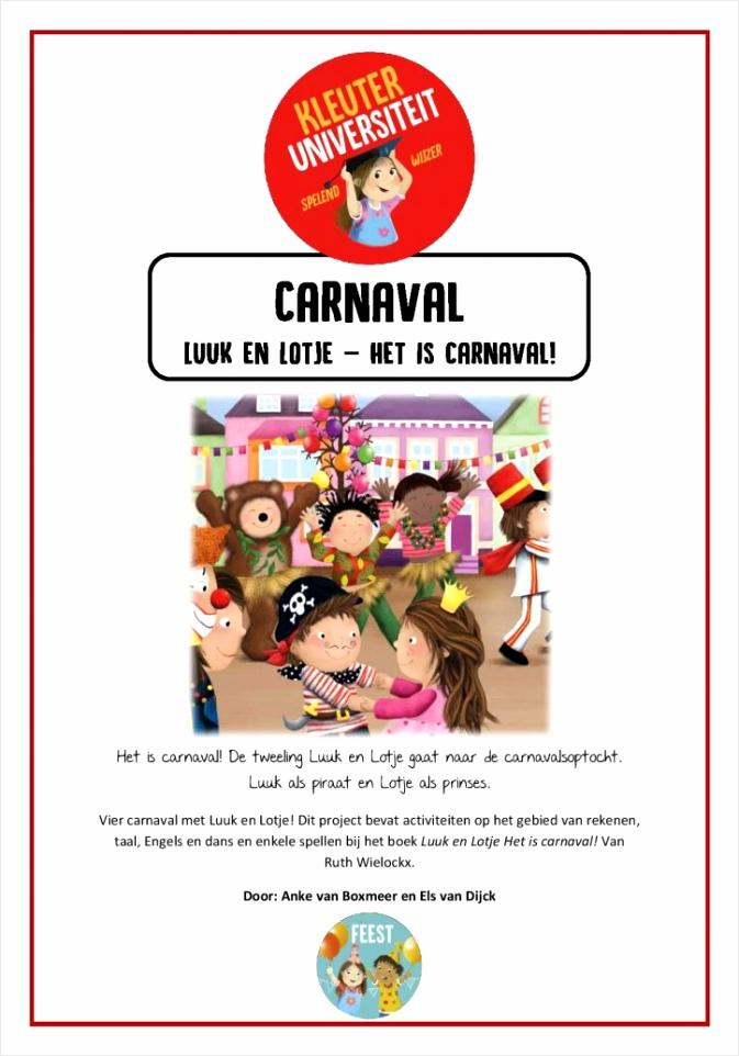 Luuk en Lotje het is carnaval oirue