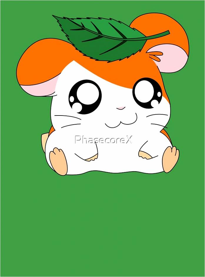 hamtaro with leaf p=kids clothes wiiyu