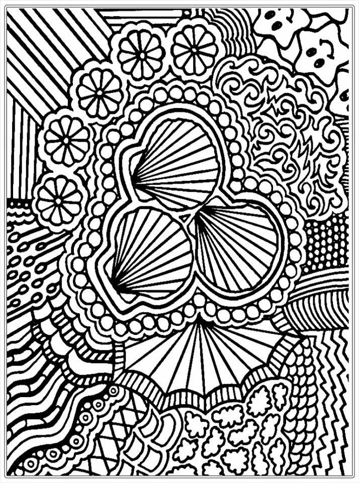 kleurplaten voor volwassenen abstract kleurplaten234
