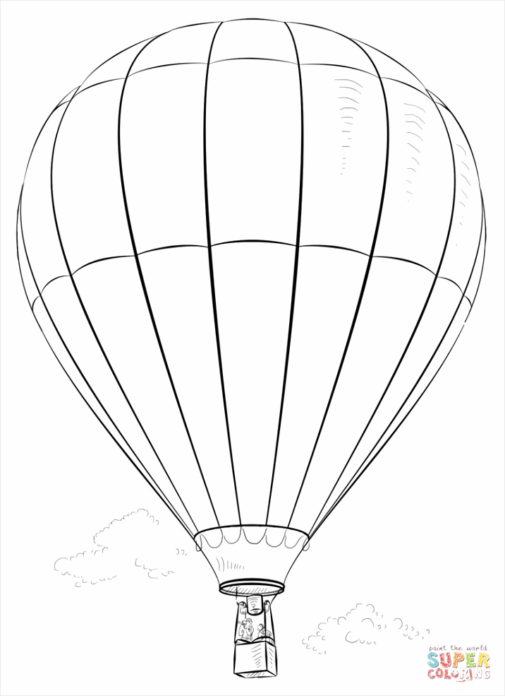 hot air baloon coloring page tauwi