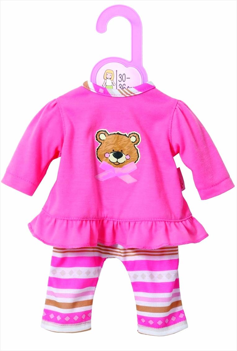 dolly moda pyjama voor 30 36cm poppen prowi