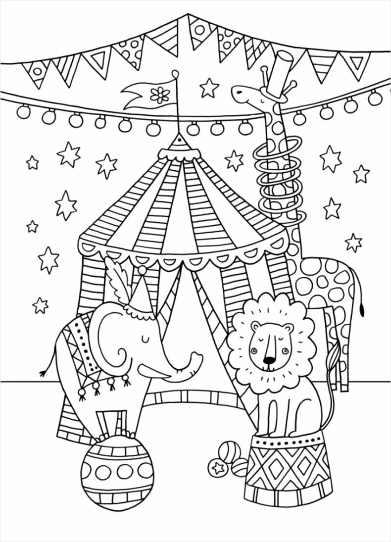Circus Clown Coloring Pages clown coloring pages to print clowns and circus Circus Coloring Clown Pages iaviu