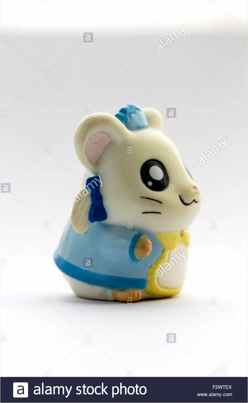 japanese plastic anime hamtaro hamster cartoon character bijous bijou F2WTEX uwtpt