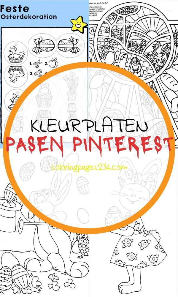 Kleurplaat Pasen kleurplaten pasen pinterest, source:pinterest.co.kr