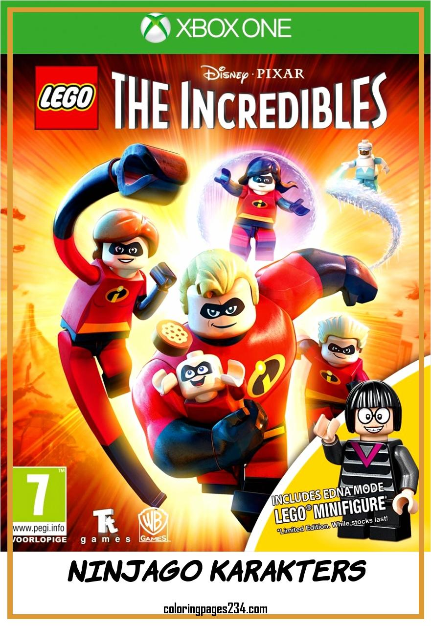 LEGO Disney Pixar s The Incredibles Collector s Edition Xbox e ninjago karakters, source:bol.com