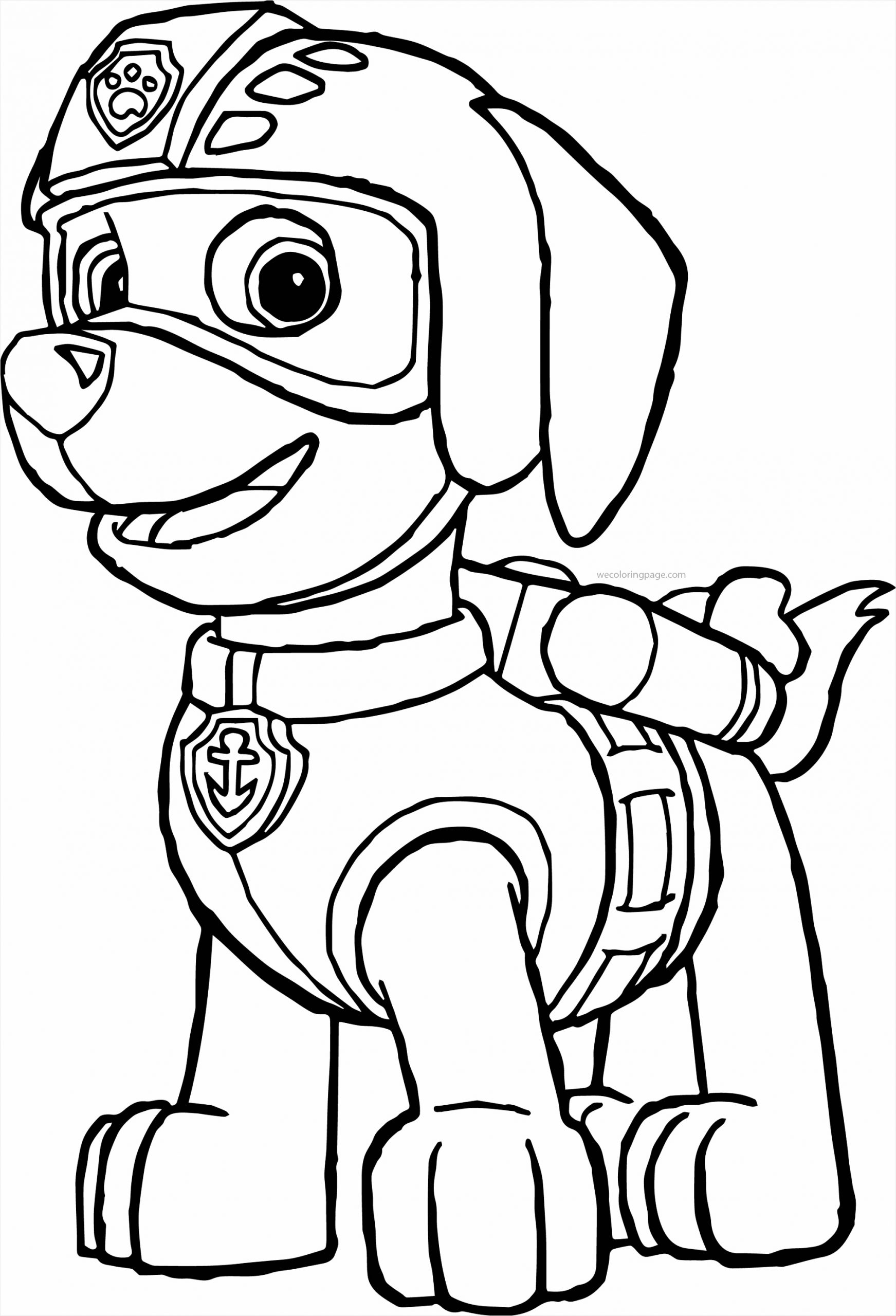 fresh new paw patrol tracker coloring pages trevon pinterest free of great skye colorful printa unknown page twfyu