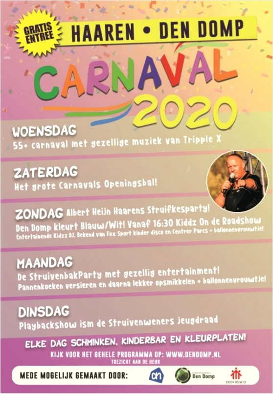 carnaval den domp algemeen tutoi