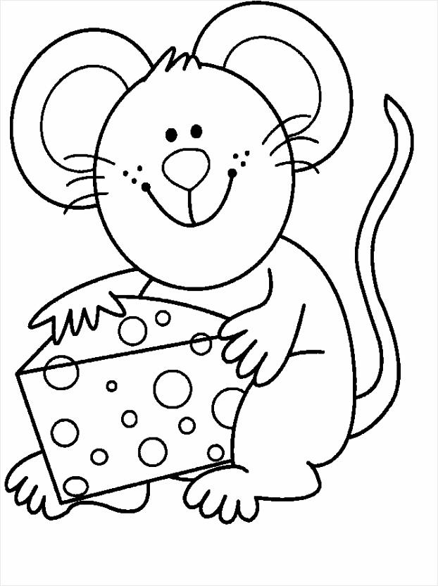 kleurplaat muis bewegende animatie 0010 etxpt