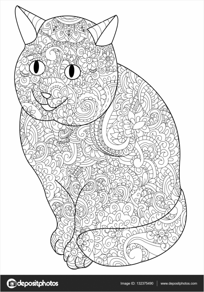 depositphotos stock illustration cat coloring book vector for ruotu