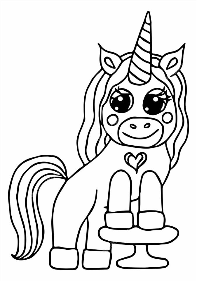 depositphotos stock illustration unicorn black line isolated magical poewt