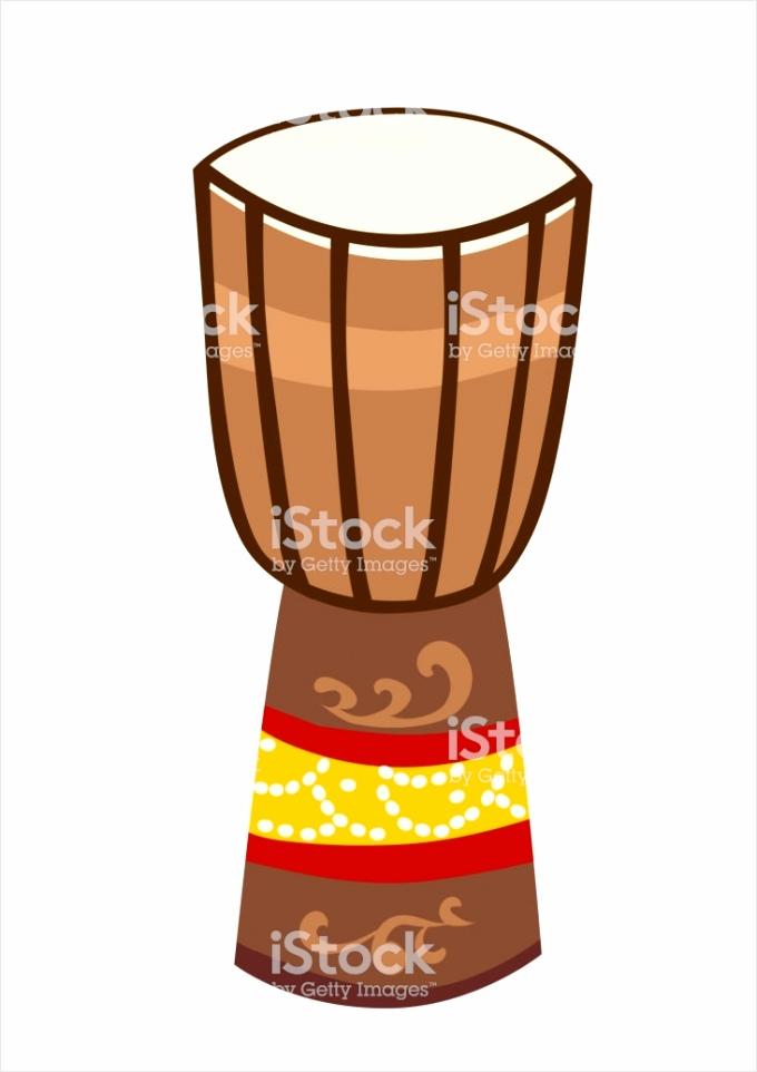 afrikaanse drum djembe vector illustratie gm aiuqy