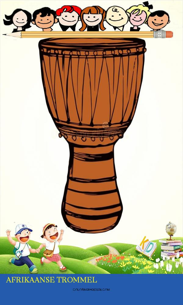 Afrikaanse Trommel Vector Tekening Vector Illustratie afrikaanse trommel, source:nl.dreamstime.com