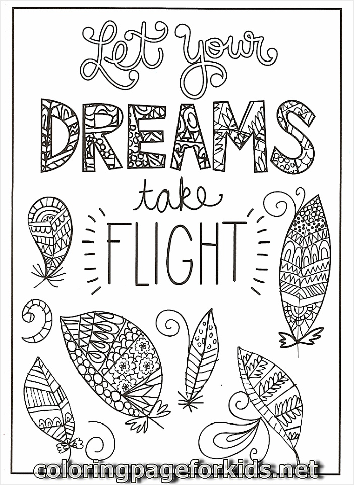 quote coloring pages pjwtp