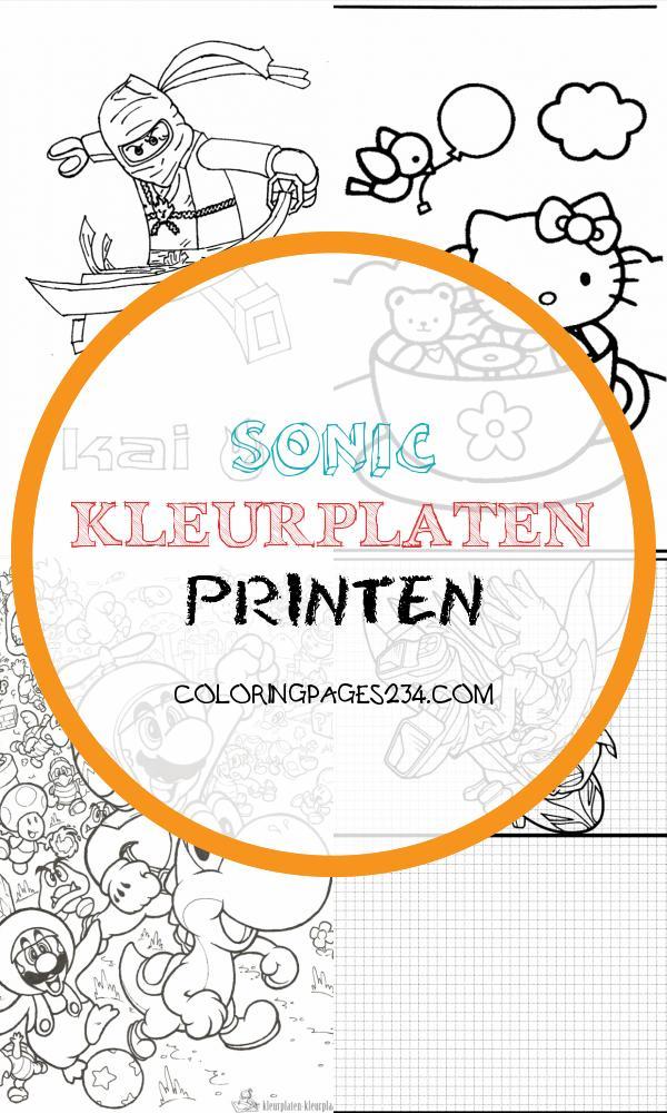 Kleurplaten mario sonic kleurplaten printen, source:kleurplaten-kleurplaat.nl