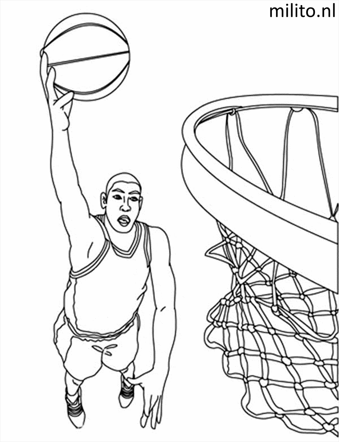 coloring pages print interesting basketball player stephen curry girl nba scaled rabto