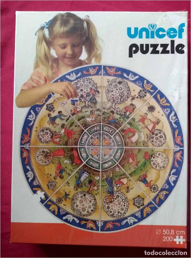 puzzle unicef code 6700 juegos ninos 200 piezas nuevo sin abrir x wuort