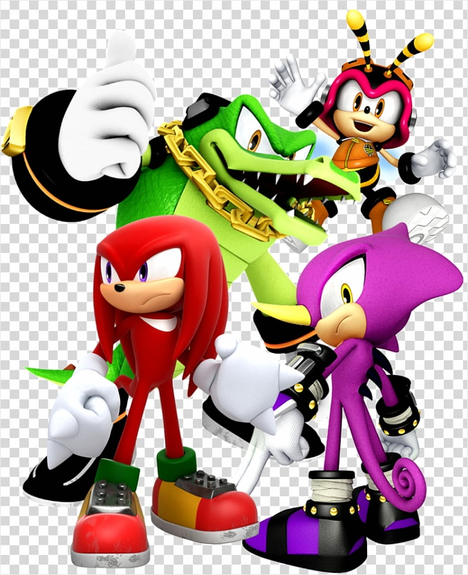 knuckles chaotix sonic heroes espio the chameleon vector the crocodile sonic knuckles others peiua