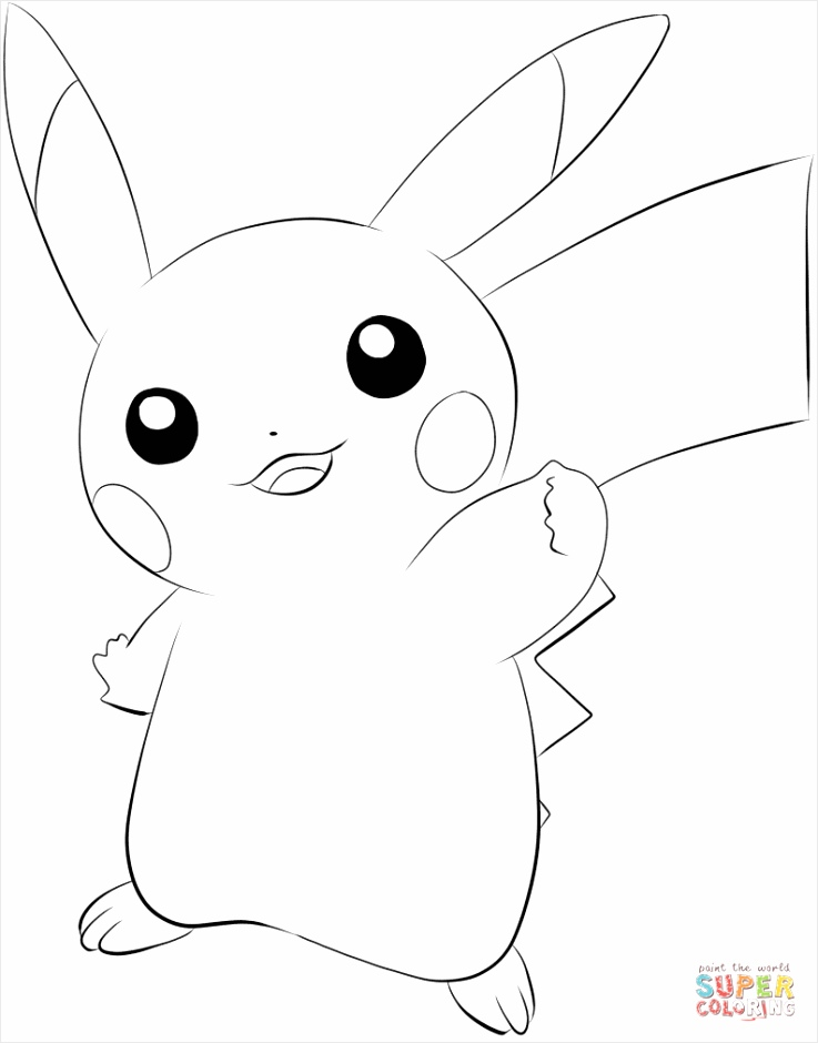 025 pikachu coloring page rwaea