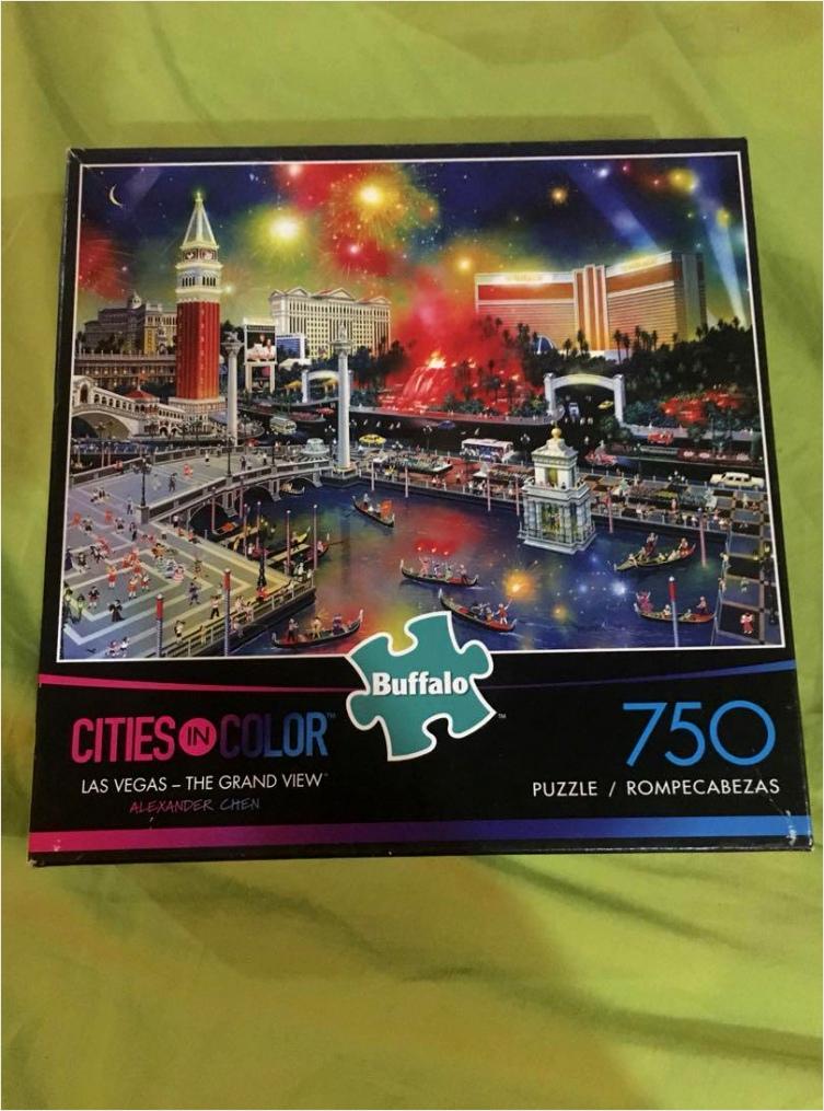 buffalo jigsaw puzzle 750 pieces toapo