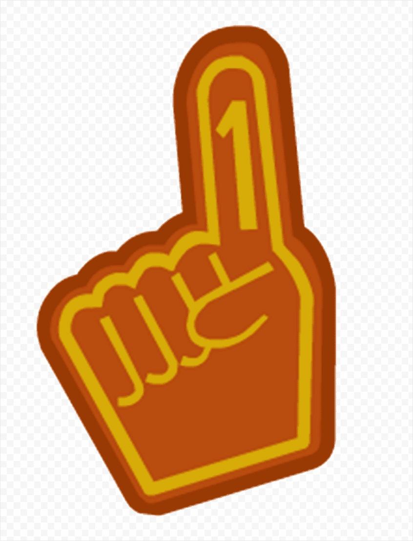thumb digit number club penguin glove dedo png clip art uewik