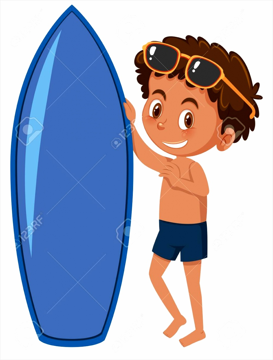 photo a young surfer on white background illustration ataia