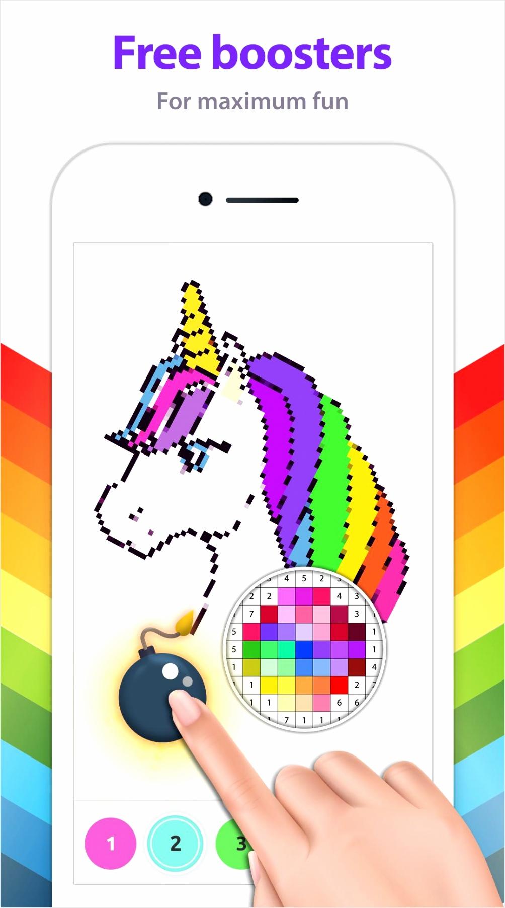 unicorncoloringbook pixelart owior