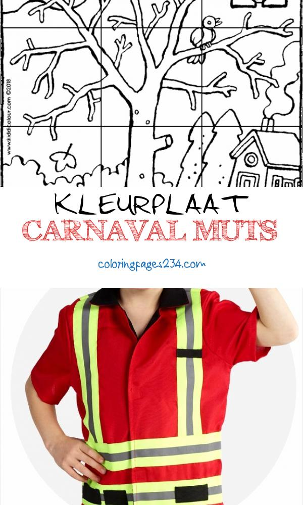 4 6 jaar colouring pages per age Pagina 2 van 74 kiddicolour kleurplaat carnaval muts, source:kiddicolour.com