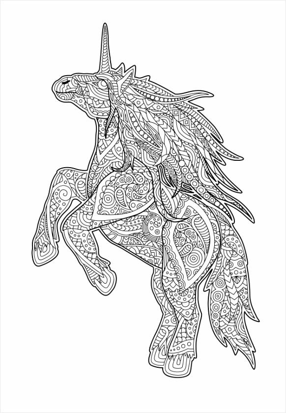 volwassen kleurboekpagina met cartoon eenhoorn 37 ueuiw
