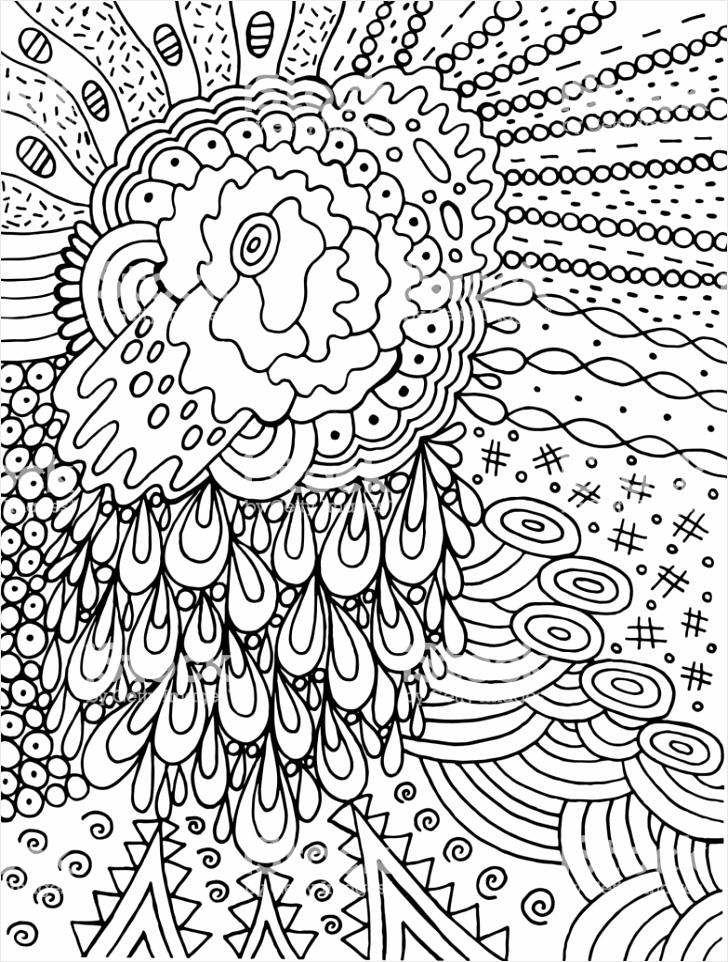 fantastische cartoon abstracte doodle met bloem en srops ink lijntekening gm puaui