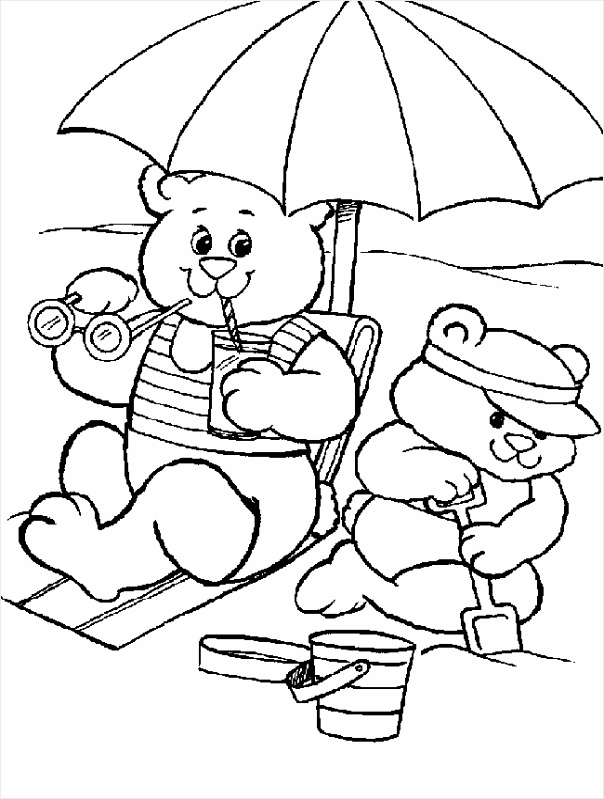 animated coloring pages summer image 0007 uwytw