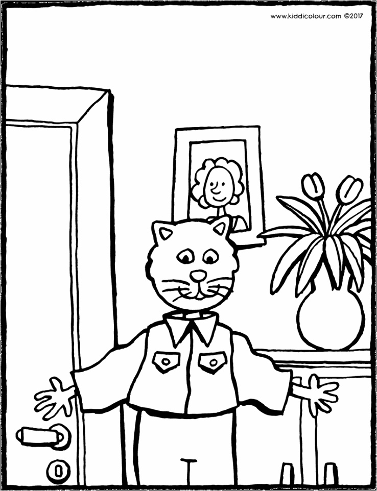 papa is de beste kleurplaat coloringpages234