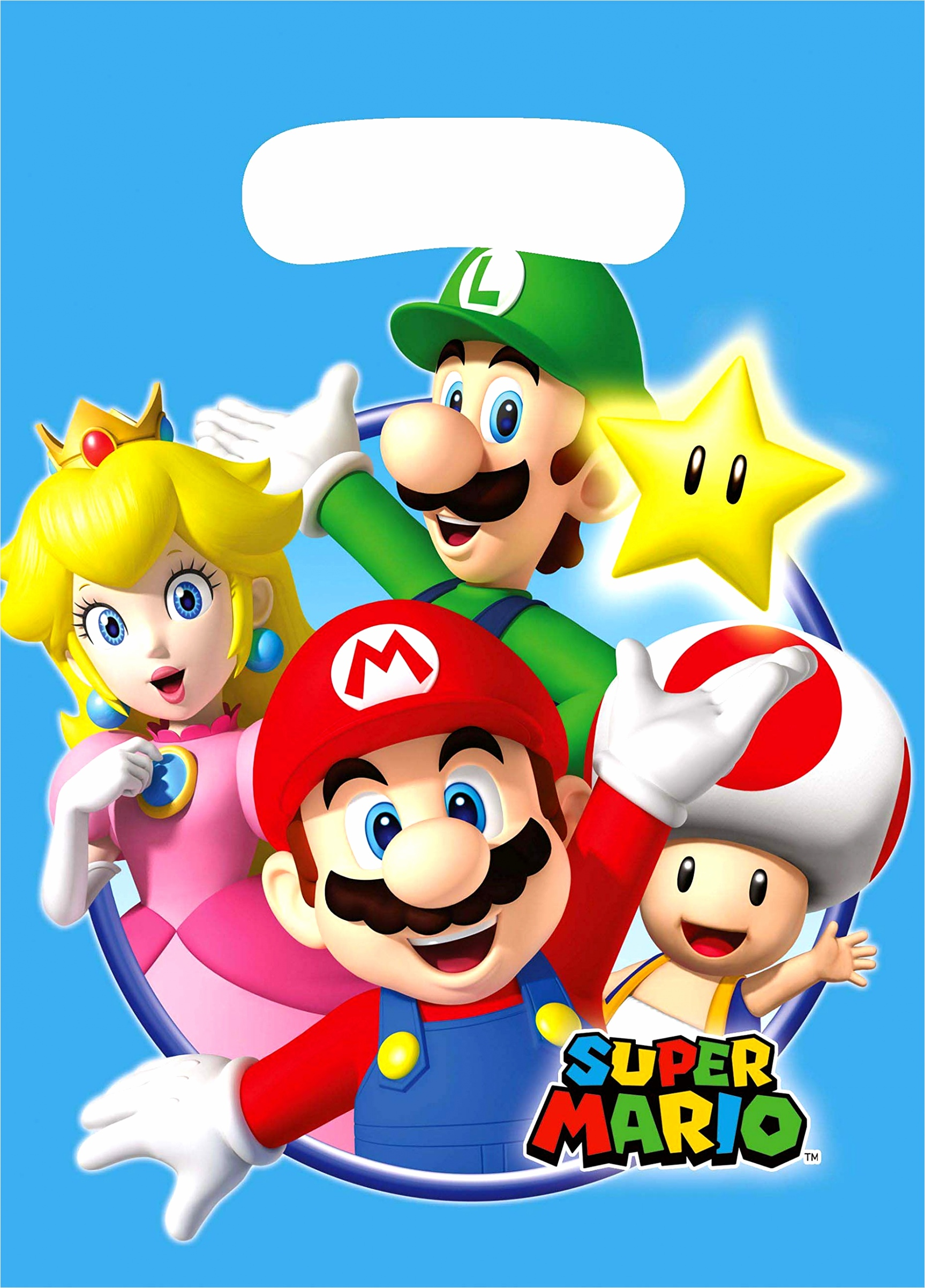 amscan new party bags with super mario print 8 pieces 1 toys multicolour wwein