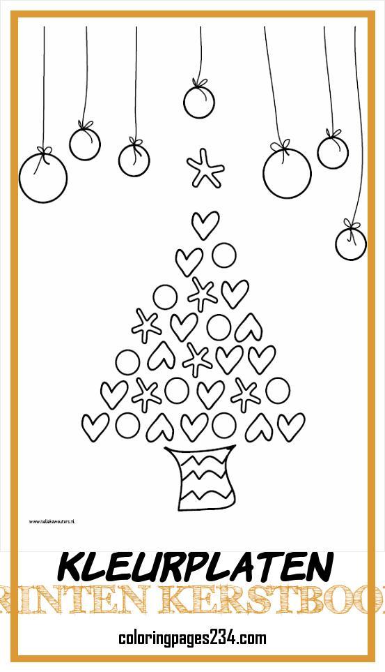 Kleurplaten kleurplaten printen kerstboom, source:cartelleke.wordpress.com