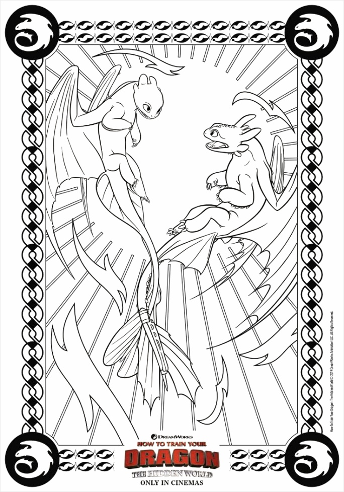 how to train your dragon 3 coloring pages ideas iywea